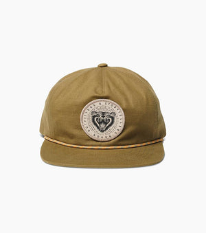 Grizzly Snapback Hat in Military