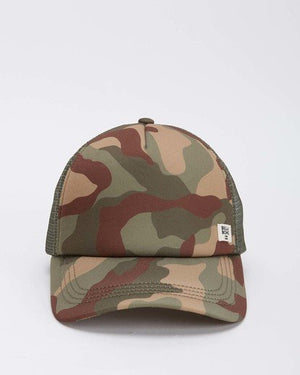 Heritage Mashup Trucker Hat in Camo