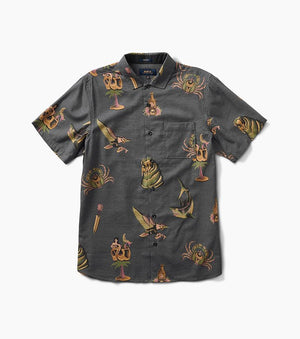 Sailor's Journey Button Up in Black