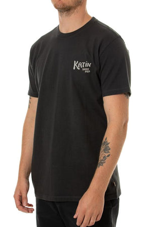 Kat Tamer Tee in Black Wash