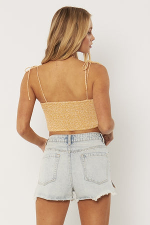 Louise Woven Tank in Baked Clay