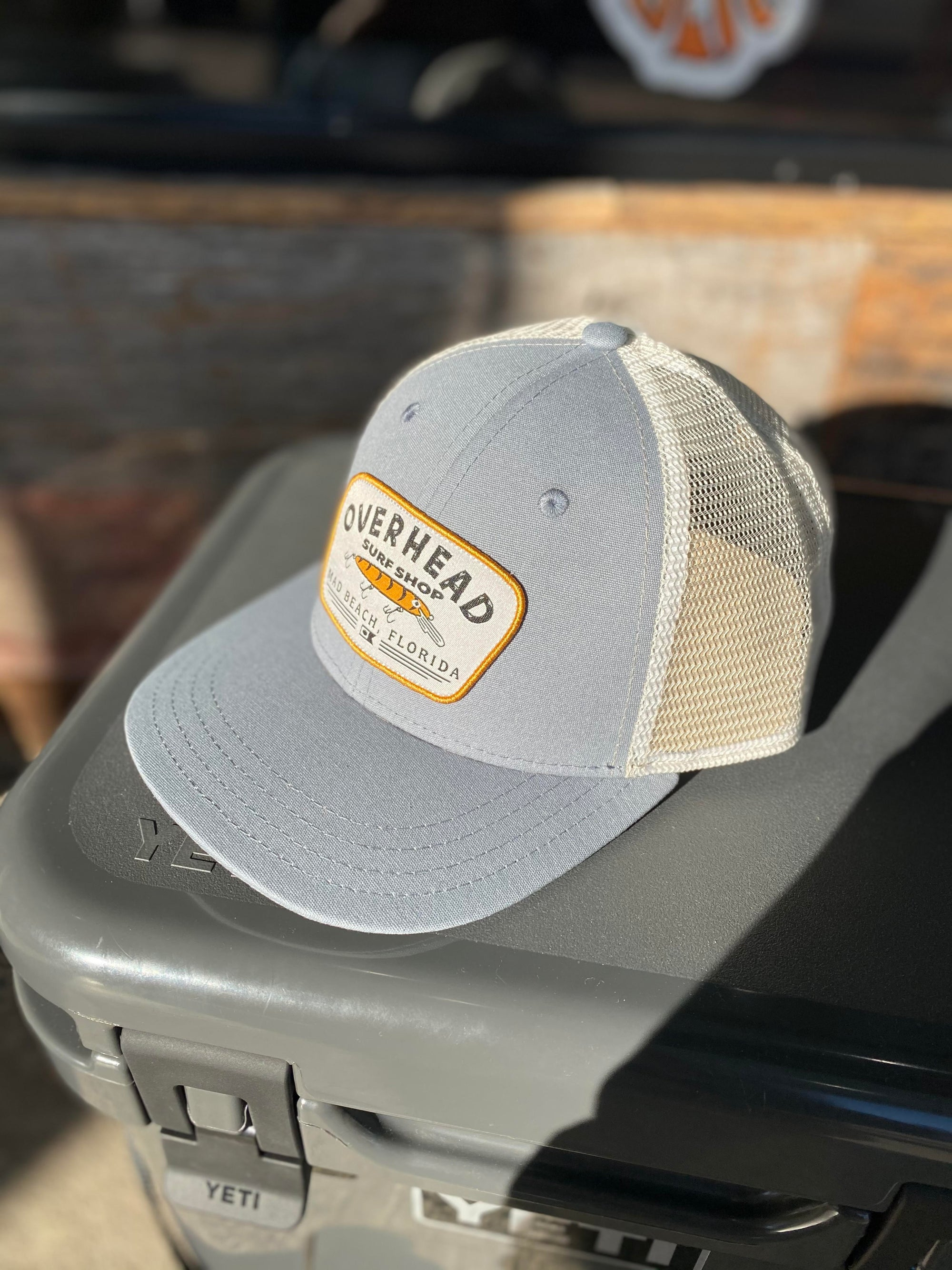 Lure Trucker Hat in River Blue