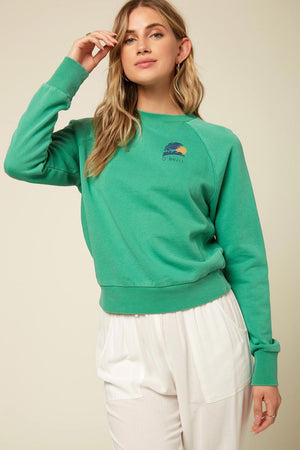 Mavericks Sweater in Jade