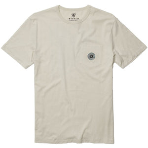 Mind Melter Pocket Tee in Bone