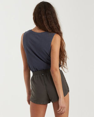 Road Trippin Shorts in Off Black