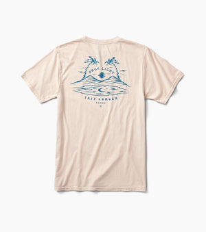 Pack Light Trip Longer Tee in Pink