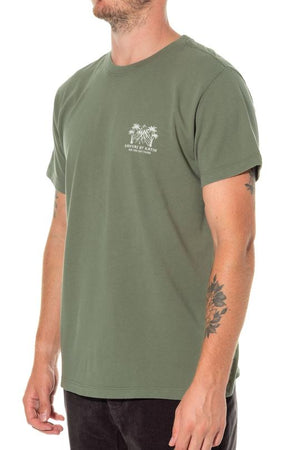 Panorama Tee in Army