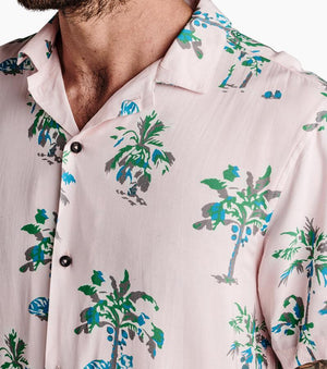 Paradise Valley Button Up Shirt in Pink