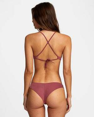 Solid Cheeky Bottom in Plum Berry