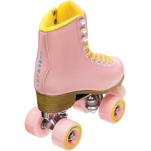 Impala Quad Skate in Pink/Yellow