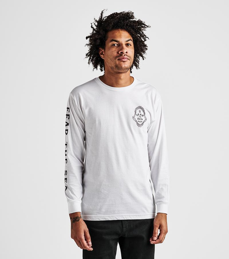 Within Reach Long Sleeve Staple Tee in White