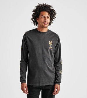 Sailor's Journey Long Sleeve Premium Tee in Black