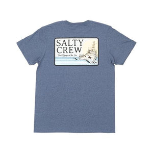 Shipwrecks Standard S/S Tee in Navy Heather