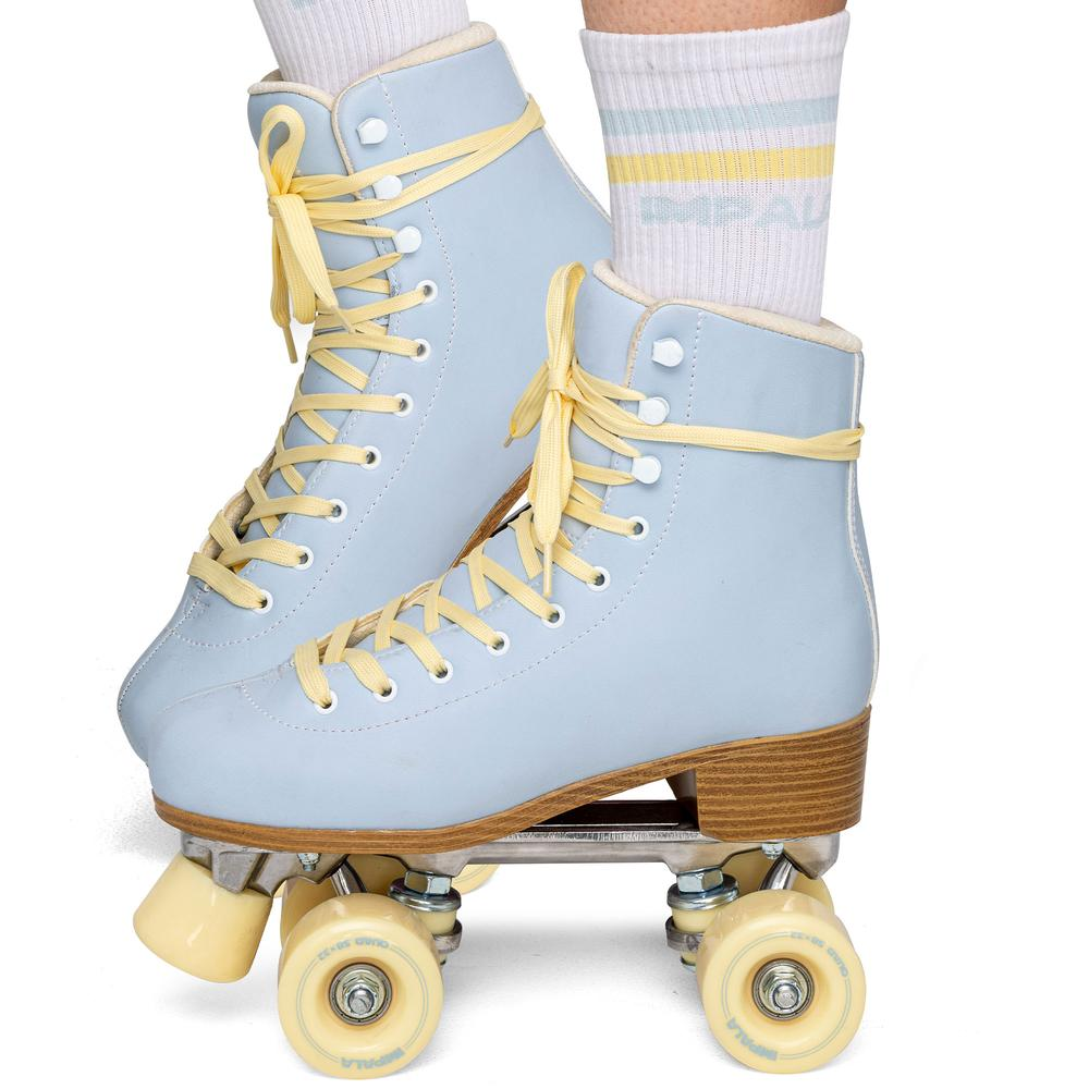 Impala Quad Skate- Sky Blue/Yellow