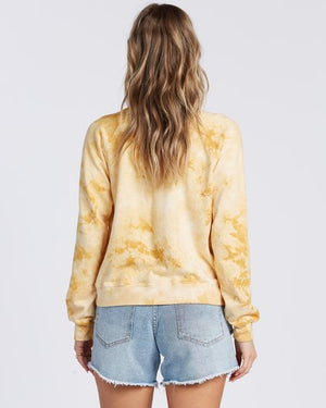 Sun Shrunk Sweatshirt in Gold Dust