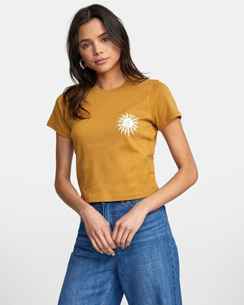 Sun Sprout Tee in Wood