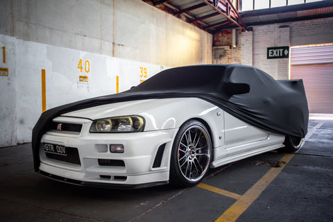 R34 Skyline GTR Indoor Car Cover