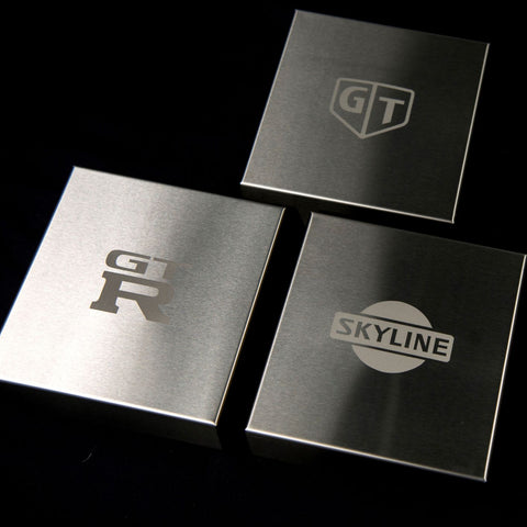 R33/R34 GTRSkyline Stainless Fusebox Cover