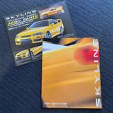 R34 GTT Coupe Dealers Brochure + Optional parts pamphlet!