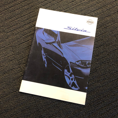 S15 Silvia Factory Dealers Brochure!