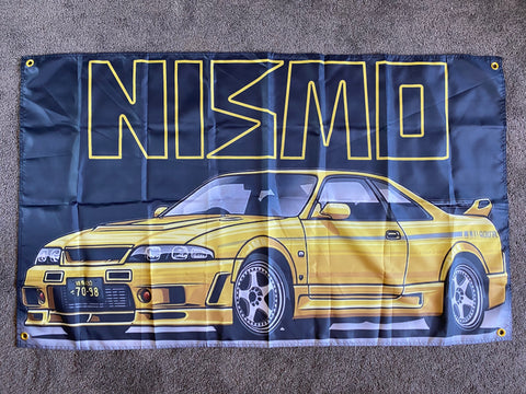 R33 400R / Old Nismo banner