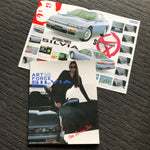 S13 Silvia 'Art Force' Dealers Brochure + Options Pamphlet!