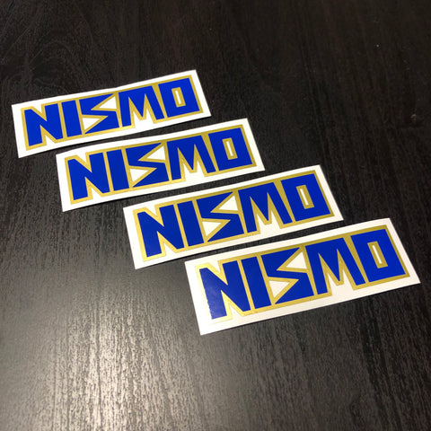 Nismo LMGT1/2 Wheel sticker!