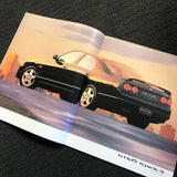 R33 GTST S2 Sedan Factory Dealers Brochure MINT