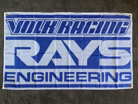 'RAYS' banner