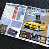 R34 GTT Sedan Factory Options / Pricelist pamphlet!