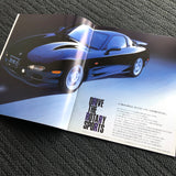FD 'efini' RX7 Factory Dealers Brochure