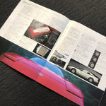 180sx Factory Dealers Brochure! + price list!