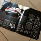 180sx Type X Factory Dealers Brochure + Accessories!