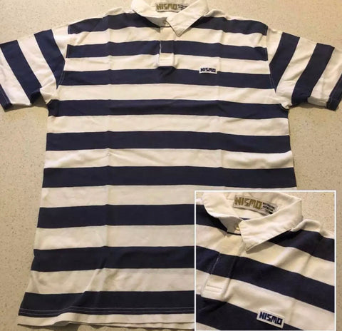 Vintage Nismo Striped Polo Shirt!