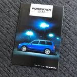 STI Forestsr S/tb Factory dealer brochure!
