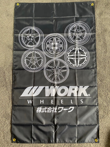 Work Wheels Banner