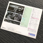 S14 Silvia Q's Aero Factory Dealer Pamphlet!
