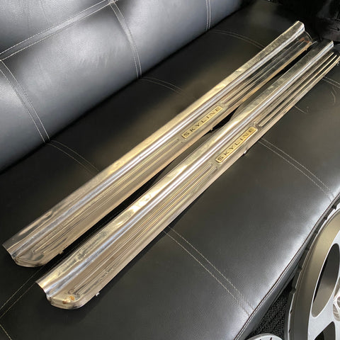 R33 Factory Option Chrome Scuff Plates!
