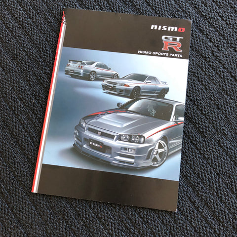 R32/33/34 GTR Nismo Parts Catalogue