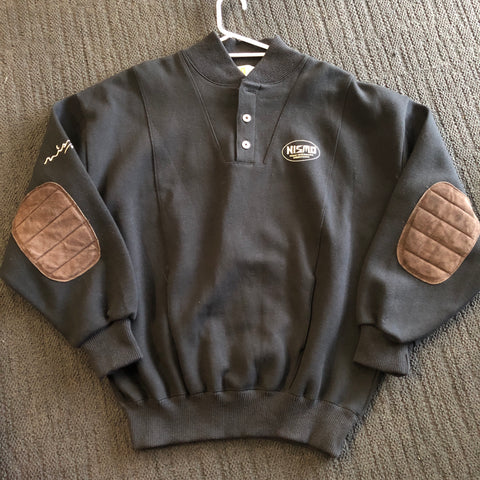 Vintage Nismo Navy / Leather Sweater!