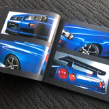R34 GTR Hardcover Brochure + optional access.
