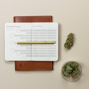 GoldLeaf Cannabis Taster Journal