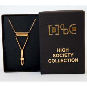 HSC Necklace - Golden Triangle Joint Clip