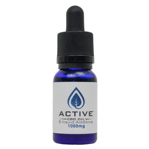 Active CBD oil E-Liquid additive