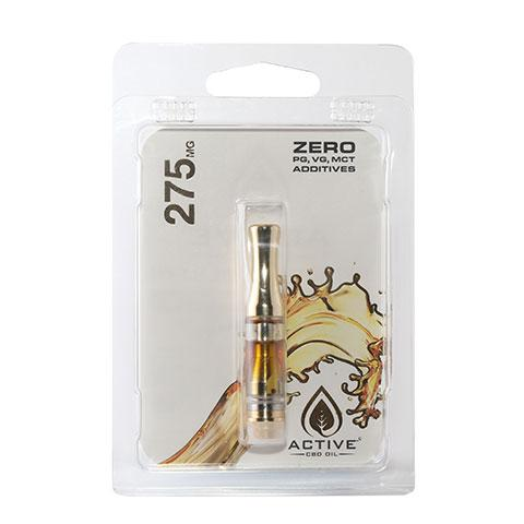 Active CBD Oil Distillate Cartridges 275mg