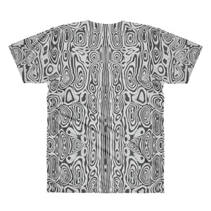 Damascus Pattern II Forged Hard Short sleeve men's t-shirt 100% polyester