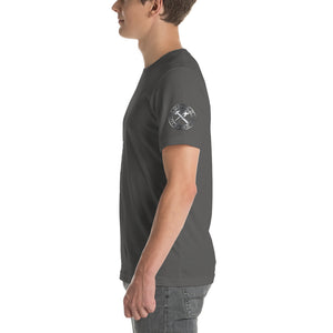 Forged Hard Blacksmith Bladesmith Short-Sleeve Unisex T-Shirt