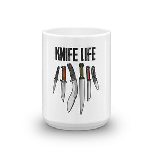 Knife Life Coffee Cup Mug