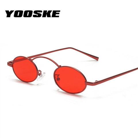 YOOSKE Small Round Sunglasses