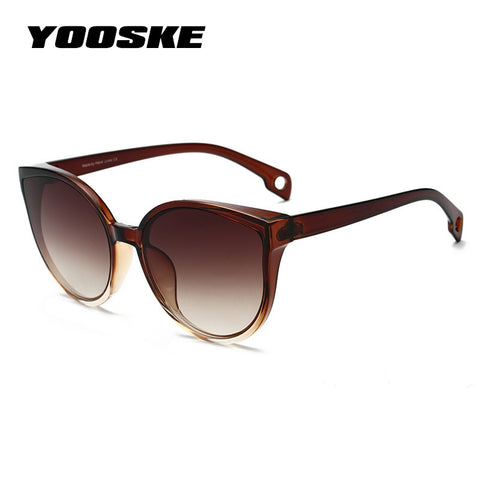 YOOSKE 2019 Cat Eye Sunglasses Women